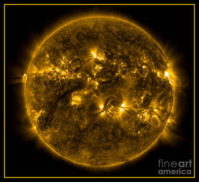 Photograph - The Suns Corona Nasa by Rose Santuci-Sofranko