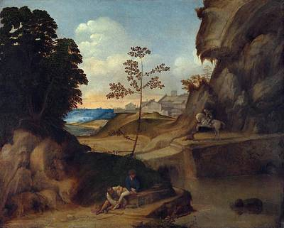 1505 Painting - The Sunset by Giorgione