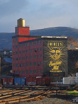 Photograph - The Sunshine Mill by Jacqueline  DiAnne Wasson