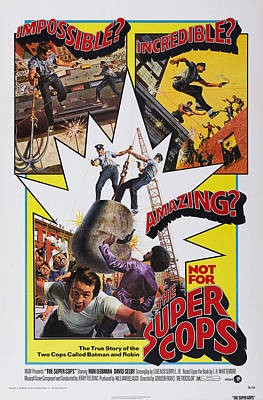 The Super Cops, Poster Art, 1974 Art Print