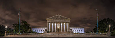 Photograph - The Supreme Court In Color by David Morefield