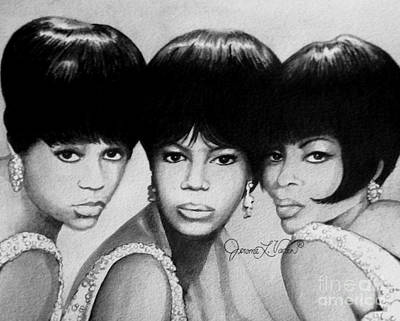 Diversity Painting - The Supremes by JL Vaden