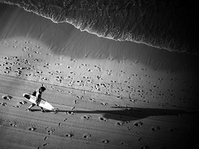 Photograph - The Surfer's Steps by Rod Sterling