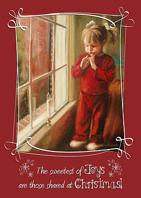 Painting - The Sweetest Of Joys Are Those Shared At Christmas by Erin Rickelton