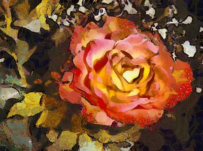 The Sweetest Rose 1 Art Print