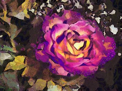 The Sweetest Rose 2 Art Print
