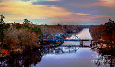 Photograph - The Swing Bridge by Kathy Baccari