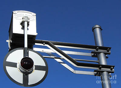 Photograph - The Swinging Signal by Steven Parker