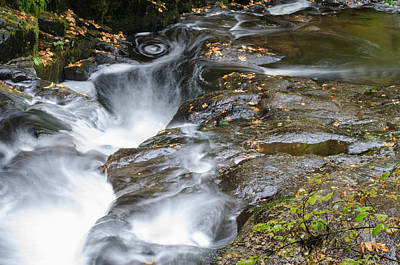 Photograph - The Swirling Stream by Margaret Pitcher