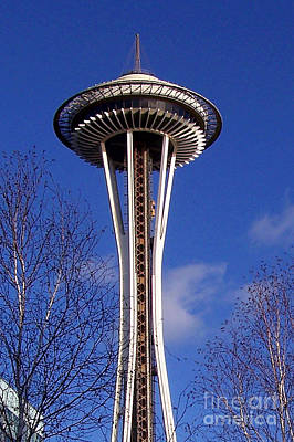 Art Print featuring the photograph The Symbol Of Seattle by Kathy  White