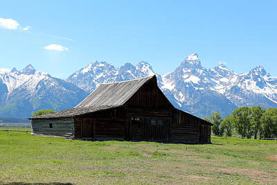 Photograph - The T A Moulton Barn by George Jones