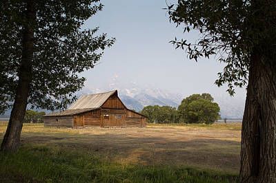 The T. A. Moulton Barn - Grand Teton National Park - Wyoming Original by Diane Mintle