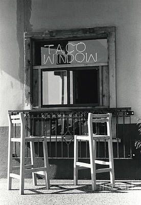 The Taco Window Art Print