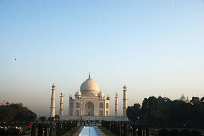 The Taj. Early Morning Art Print