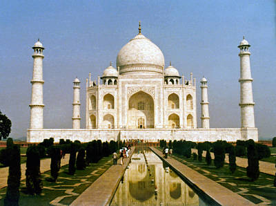Photograph - The Taj by Kurt Van Wagner