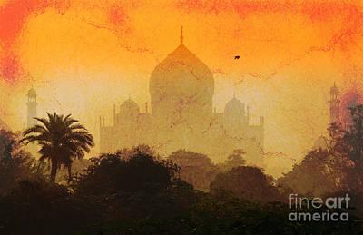 Photograph - The Taj Mahal Agra India by Neville Bulsara