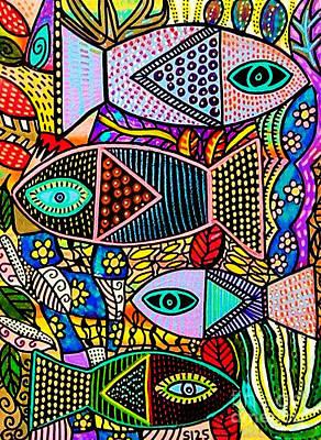The Talavera Sea Art Print