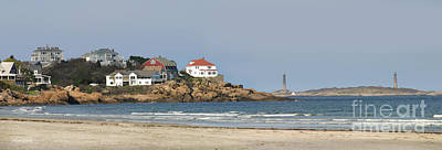 Photograph - The Tallest Lighthouses In Massachusetts by Michelle Wiarda-Constantine