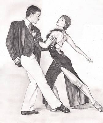 The Tango Art Print by Beverly Marshall