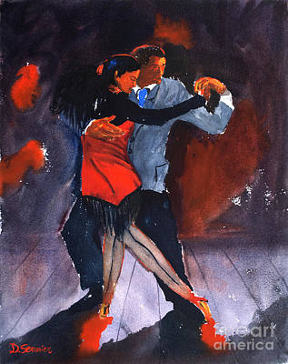 Dancing Painting - The Tango by Dominique Serusier