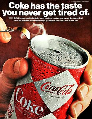 Coke Classic Photograph - The Taste by Benjamin Yeager