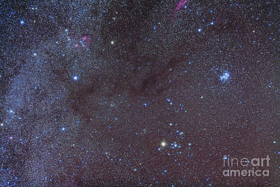 Photograph - The Taurus Region Showing Dark Lanes by Alan Dyer