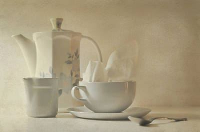 Tea For One Photograph - The Tea Napkin by Diana Angstadt