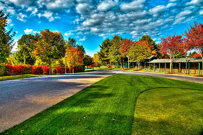 Photograph - The Tear Drop Lawn At The Sagamore Resort by David Patterson
