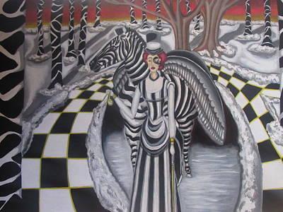 The Telling Time Art Print by Carmelita Lake