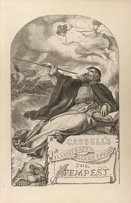 The Tempest Art Print by British Library