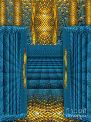 The Dalai Lama Digital Art - The Temple In My Heart  - Spiritual Art By Rgiada by Giada Rossi