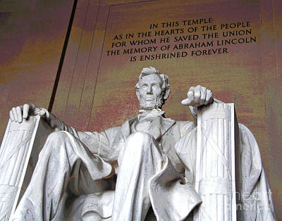 Photograph - The Temple Of Abraham Lincoln by Larry Oskin