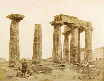 Realistic Photograph - The Temple Of Apollo At Corinth by James Robertson