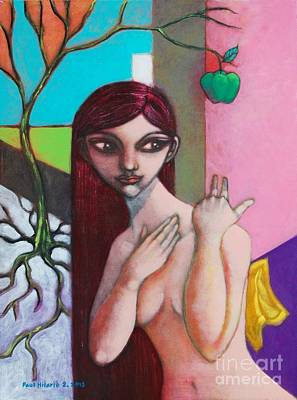Os Painting - The Temptation Of Youth by Paul Hilario