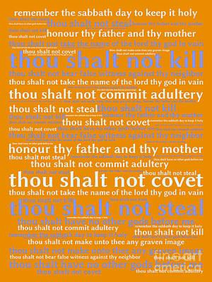 The Ten Commandments 20130625p168 Art Print
