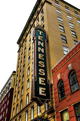 Photograph - The Tennessee Theater - Knoxville Tennessee by David Patterson