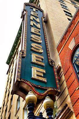 The Tennessee Theatre - Knoxville Tennessee Art Print