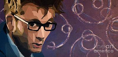 Game Of Chess - The Tenth Doctor David Tennant by Ellen Nicole Allen