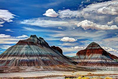 The Tepees Art Print by Larry Knupp