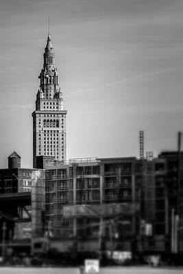Travel - The Terminal Tower Cleveland Ohio  by Michael Demagall
