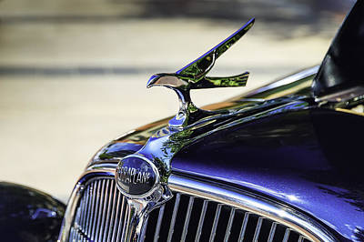 Car Images Photograph - The Terraplane Hood Ornament by Tim Stanley