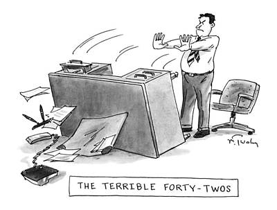 The Terrible Forty-twos Art Print by Mike Twohy