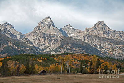 Photograph - The Tetons Grand Teton National Park by Fred Stearns