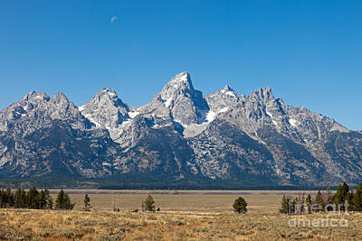 Photograph - The Tetons Gros Vente Road Grand Teton National Park by Fred Stearns