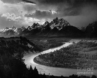 National Park Photograph - The Tetons The Snake River by Celestial Images