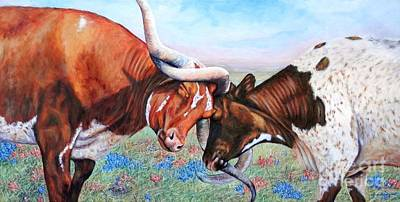 Painting - The Texas Twist by Amanda Hukill