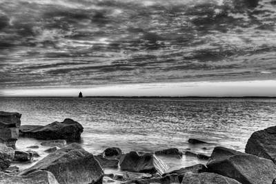 Photograph - The Texture Of The Chesapeake by JC Findley