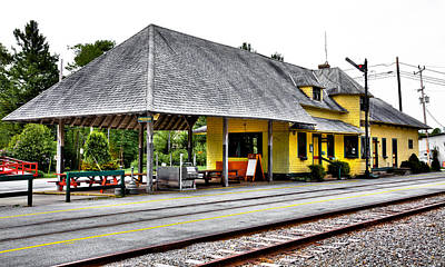 Photograph - The Thendara Train Station II by David Patterson