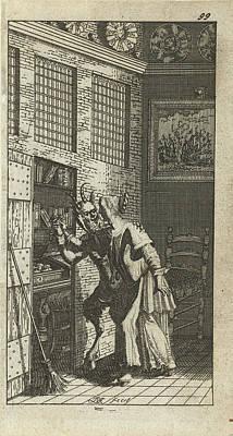 The Thieving Devil, Johannes Jacobsz Van Den Aveele Art Print