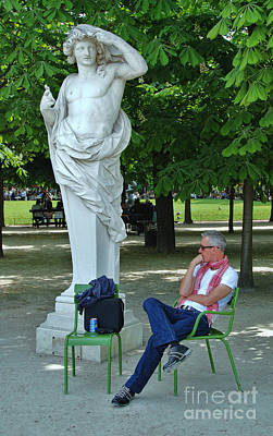 Photograph - The Thinker by Allen Beatty
